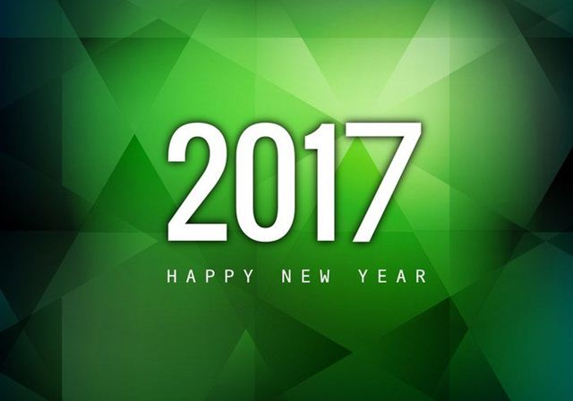 Happy New Year 2017 HD Wallpaper 52