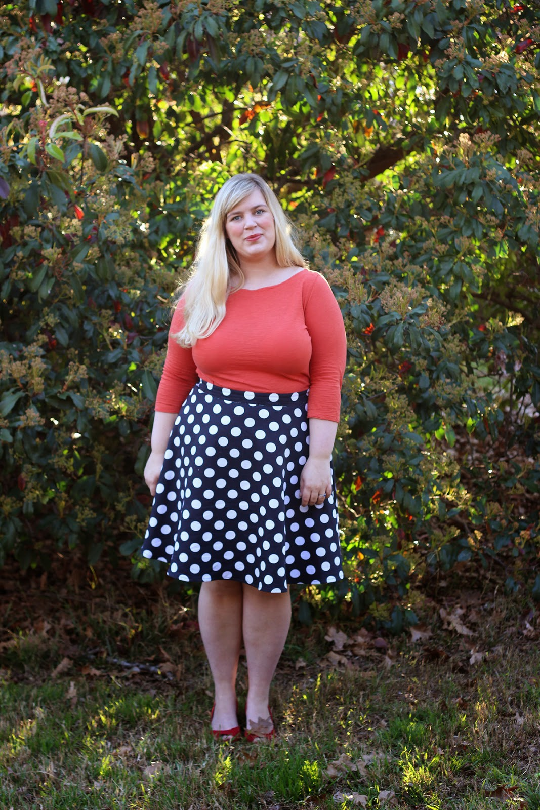 9bfffacca Polka dots will always be welcome in my wardrobe, increased attention to  glamour or not. Some loves you can't and shouldn't outgrow.