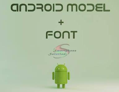 cara mengubah font hp android