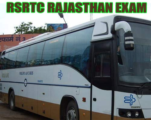 rsrtc rajasthan exam date