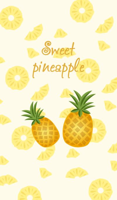I love eating pineapple