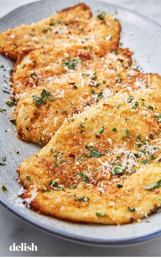 Garlic Parmesan Flounder