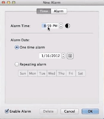 set-alarm-on-mac