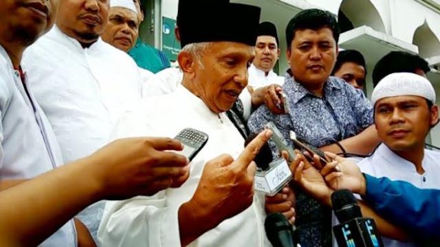 Aktivis Cyber Indonesia Laporkan Amien Rais ke Polisi Terkait Partai Setan