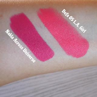verdebio Defa Cosmetics Velvet Matt Lipstick Nabla Across The Universe