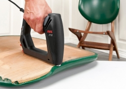 Grapadora electrica para tapizar