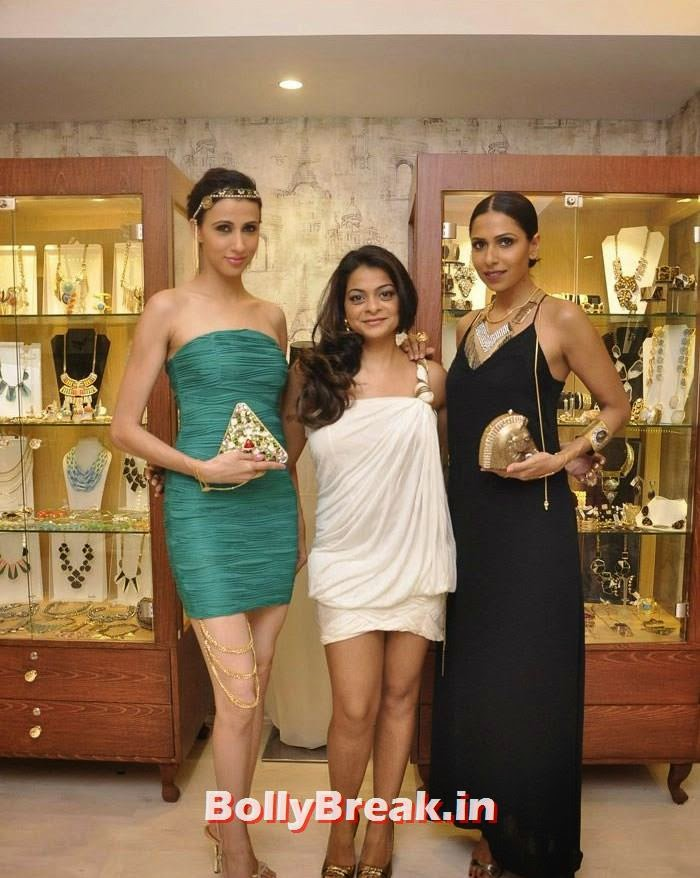Alesia Raut, Bansri Mehta, Candice Pinto, Pics from Bansri Mehta Jewellery Lounge Preview