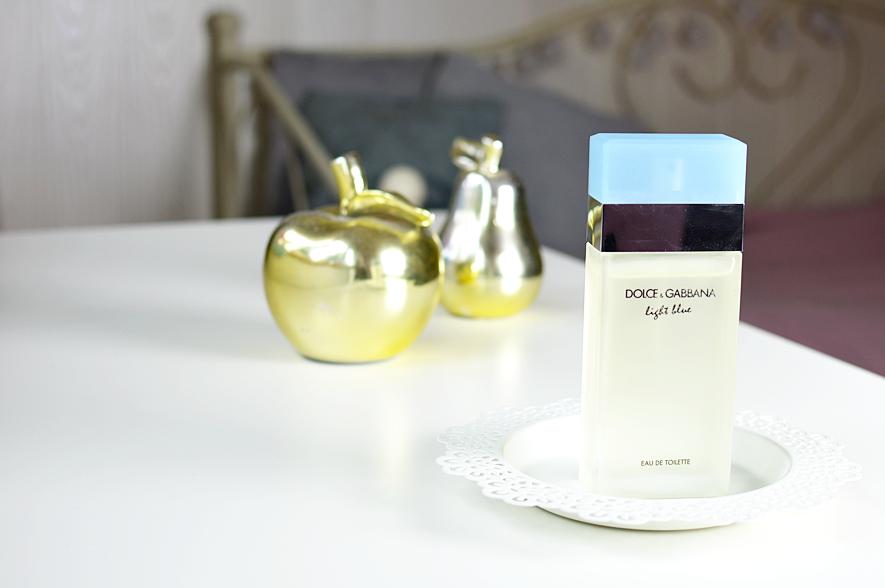 moje ulubione perfumy, dolce & gabbana light blue