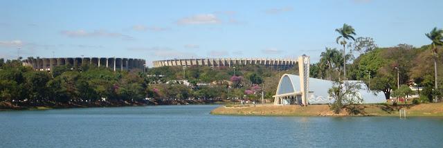 Onde Correr e Caminhar em Belo Horizonte : Lagoa da Pampulha