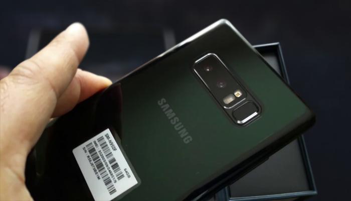Cara Flashing Samsung Galaxy Note 8 SM-N950F via Odin