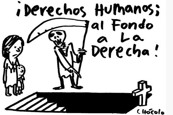 Resultado de imagen de NO SE RESPETAN DERECHOS HUMANOS