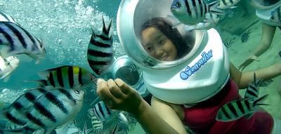 sea walker murah di Bali Dapatkan segera di tanjung benoa