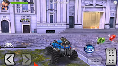 Overload 3D MOBA car shooting MOD APK