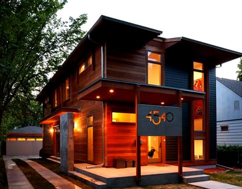 memilih 35 desain rumah kayu modern untuk hunian yang