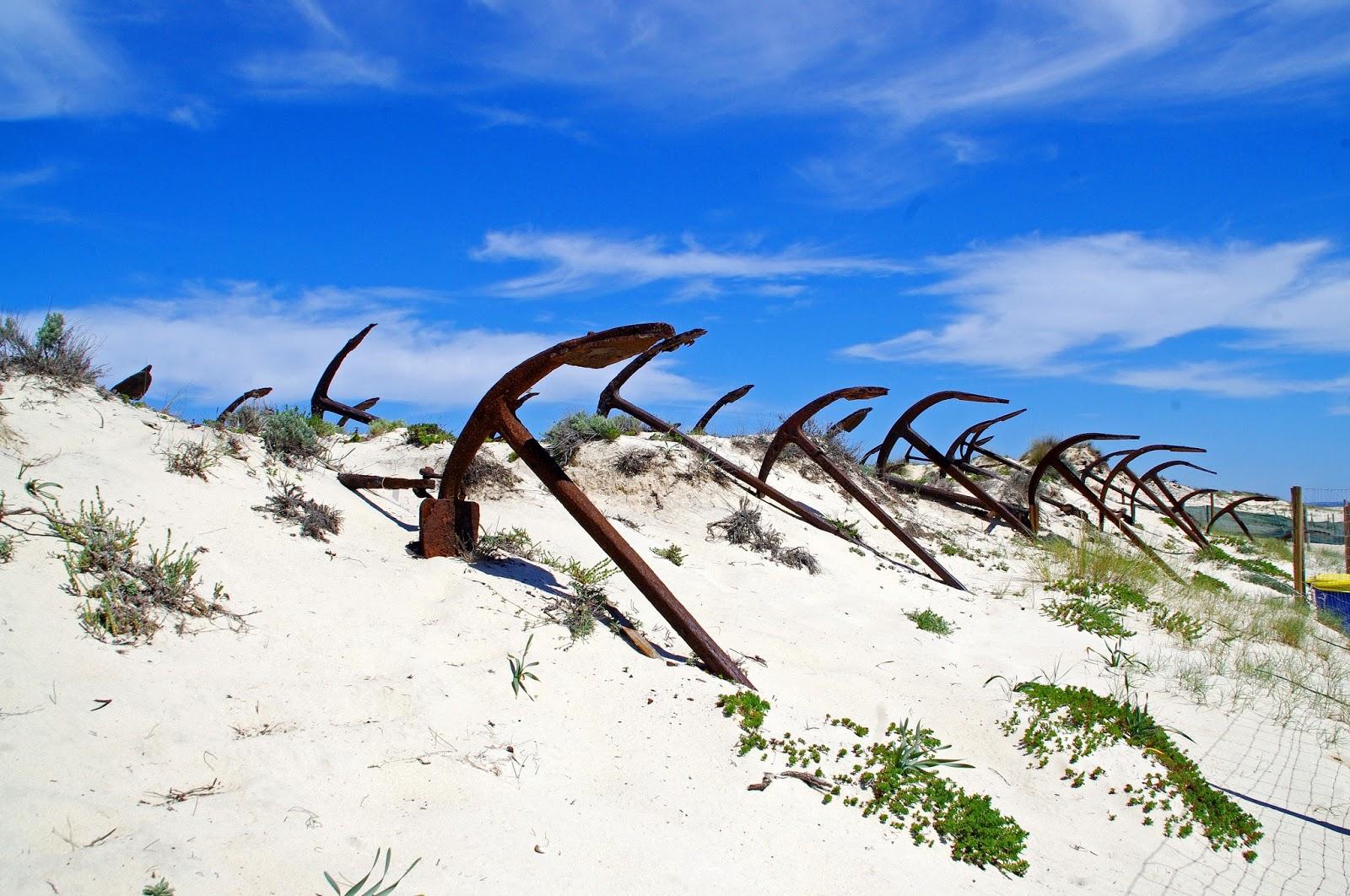 Anchor Graveyard Ilha Tavira