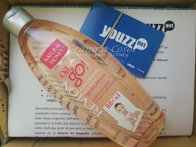 Oil&Go! de Natural Honey Aceite en la ducha - Proyecto en colaboración con Youzz