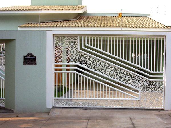 Famosos Muros e grades residenciais – 25 inspirações modernas | Decor  WK68