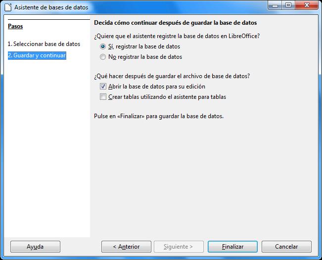LibreOffice Base