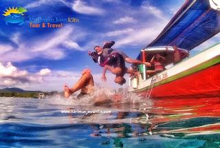 serunya snorkeling di karimun jawa