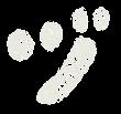 カタカナのペンキ文字「ヅ」