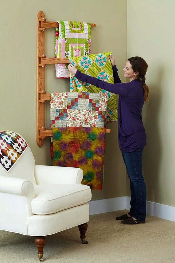 De Jong Dream House: Ikea Quilt Ladder