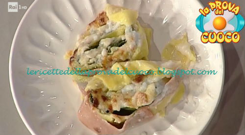 Rosette di sfoglia con mortadella e lattuga ricetta Spisni da Prova del Cuoco