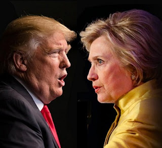 US Election: Clinton and Trump