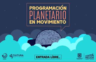 Programación Planetario en movimiento