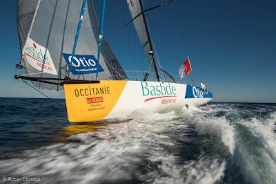 Kito de Pavant en route pour le Vendée Globe !