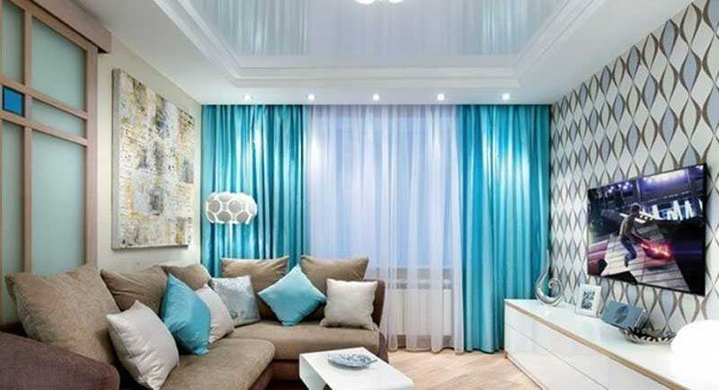 Living room curtain designs 2017 for living room windows - teal living room curtains