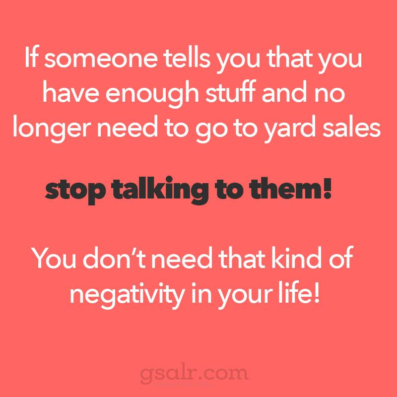 Buy Here Pay Here Okc >> FRIDAY FUNNY: Yard Sale Negativity You Don't Need | Craigslist Garage Sales - Oklahoma City
