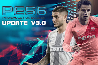 PES 6 Next Season Patch 2019 Update V3.0