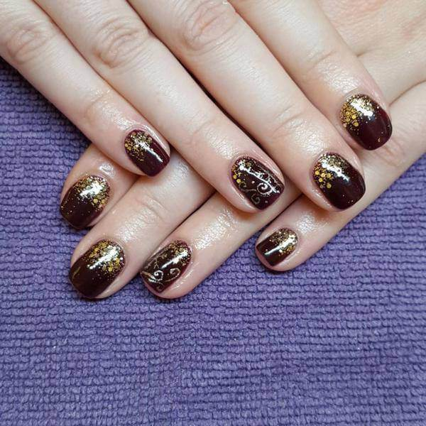 Rebel flag nail art for short nails 2017 hairstyle fm gold rebel flag nail art for short nails prinsesfo Gallery