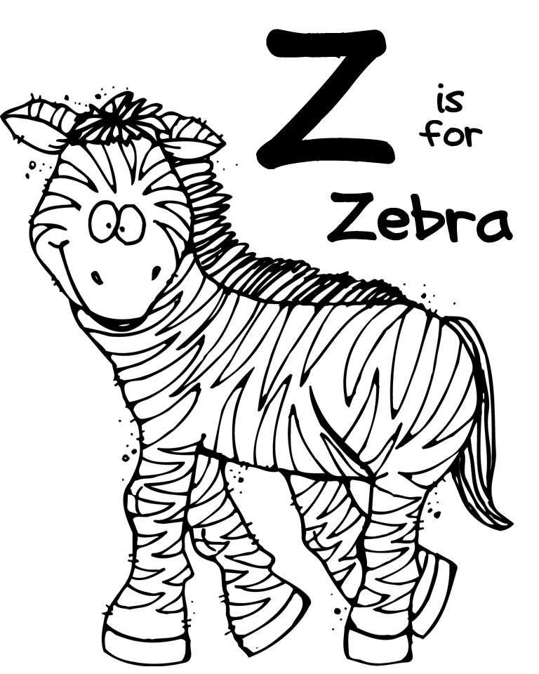 We Love Being Moms!: Letter Z (Zebra)