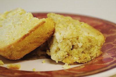 Cornbread with sweet green chillies