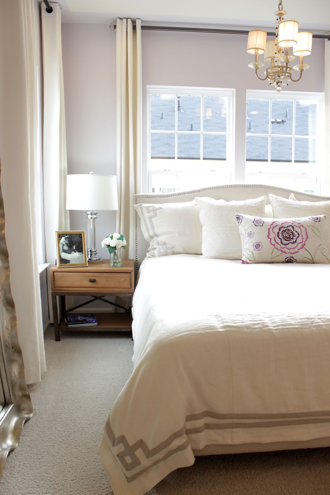 Transform your plain home by dressing up your windows with long drapes