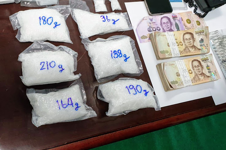 American, Thai wife held in Pattaya drug bust