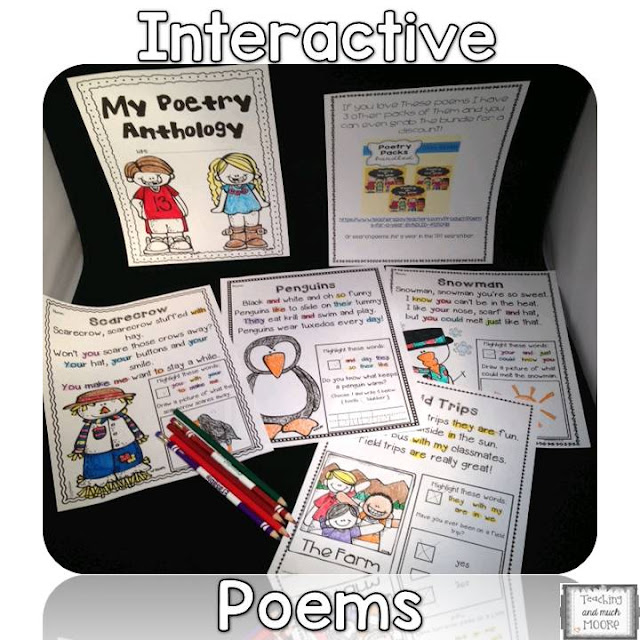 poetry anthology, poems for a year, poetry in the classroom