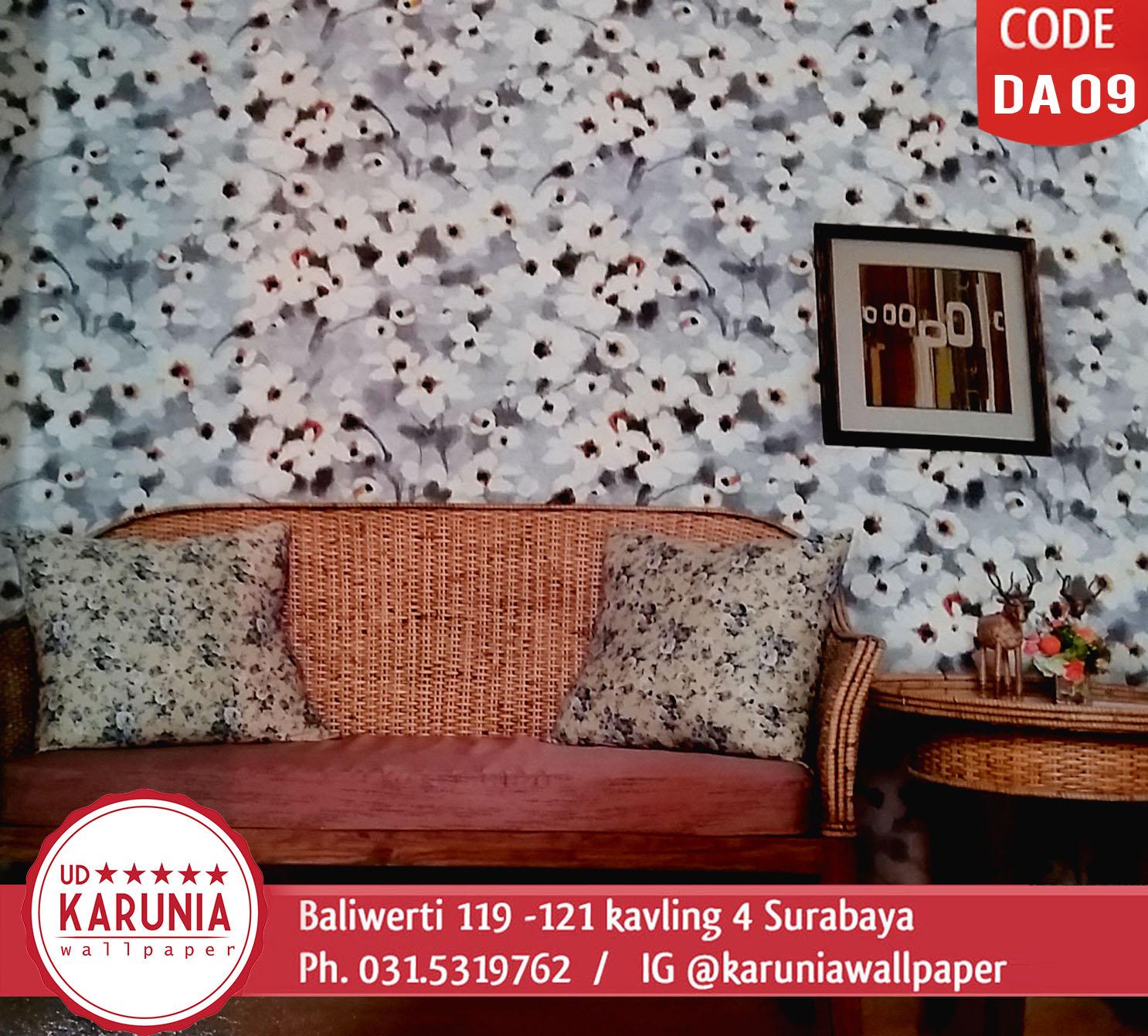 jual wallpaper motif bunga