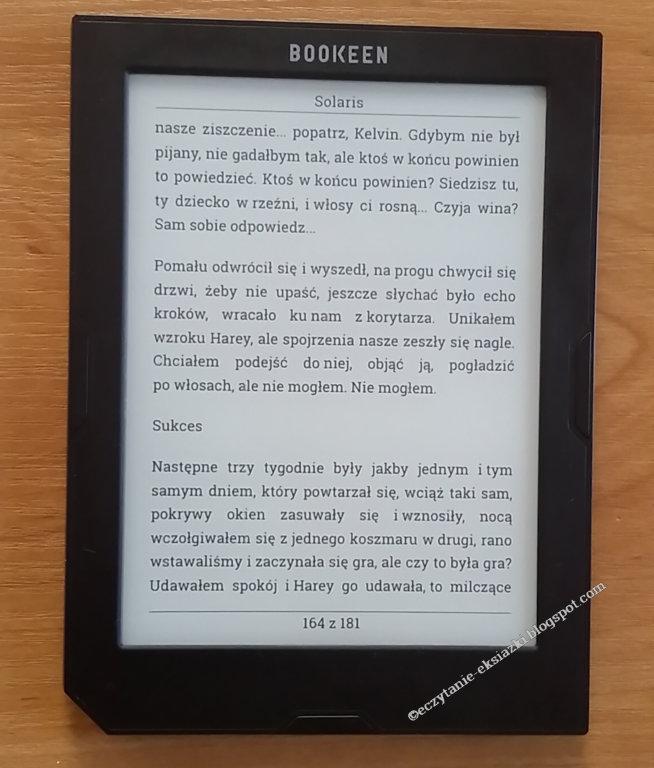 Czcionka Roboto-Slab w czytniku Cybook Muse Light