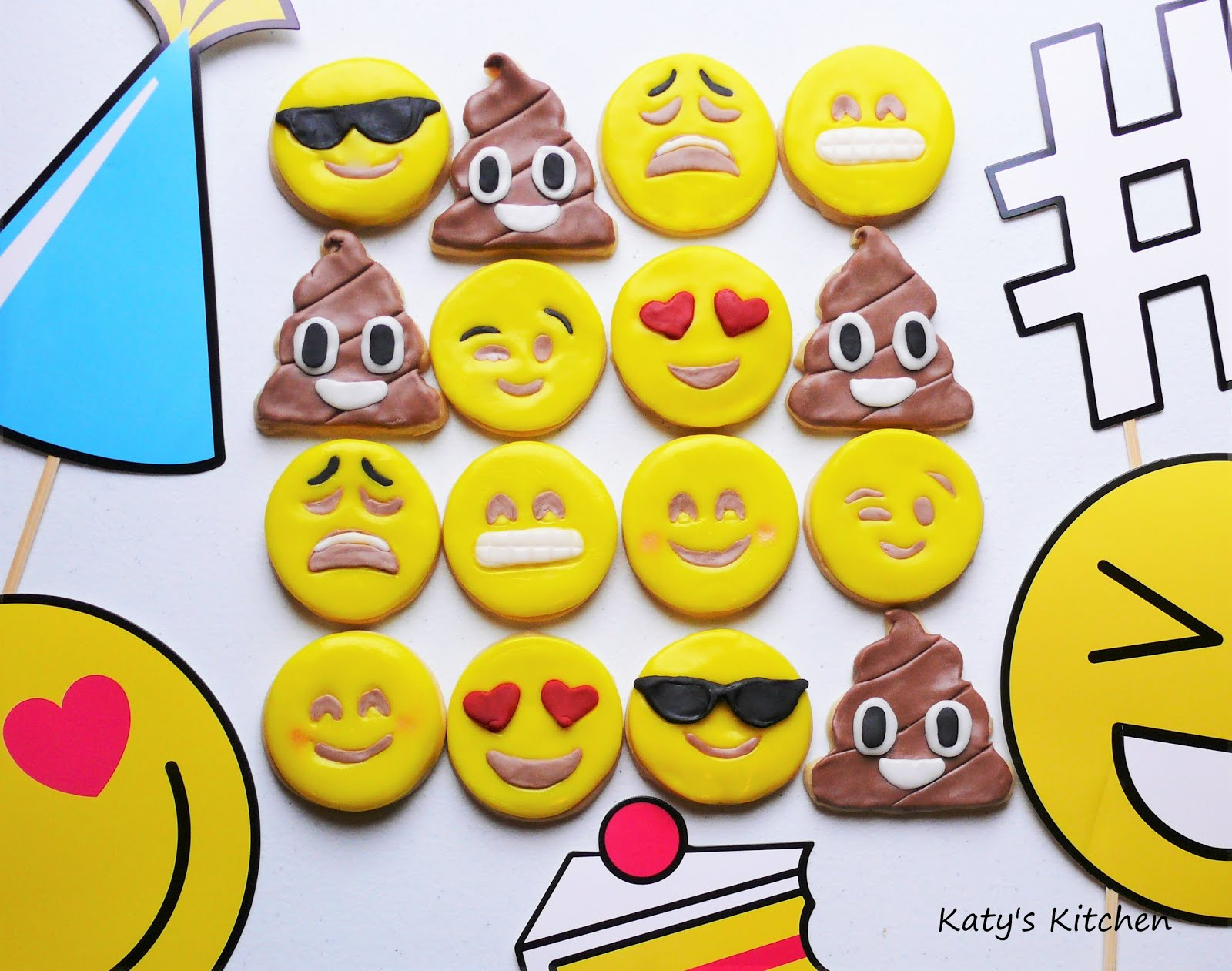 Katy S Kitchen Emoji Cookies