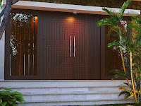 Ide Model Pintu Rumah Berdesain Minimalis yang Elegan
