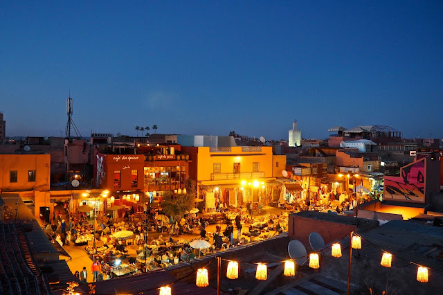 night market at place des espices Marrakech Photo Diary