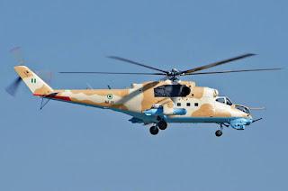 Helikopter Serang Mi-35 Nigeria