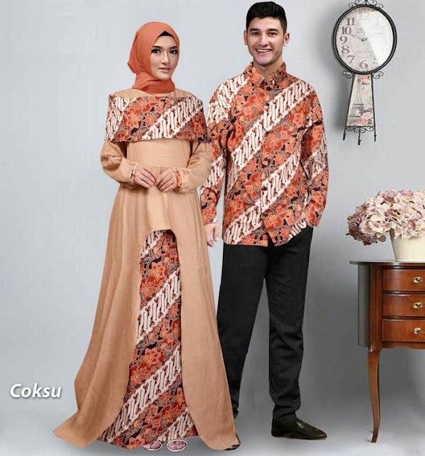 baju batik couple, baju batik pasangan kondangan