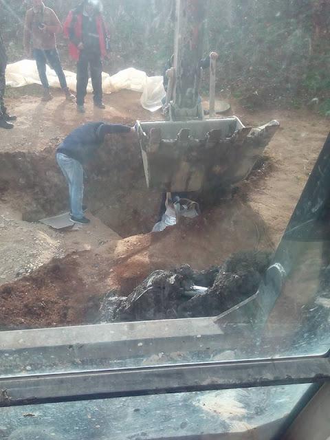 Μεγάλο πήλινο αγγείο βρέθηκε στο ορυχείο Μαυροπηγής