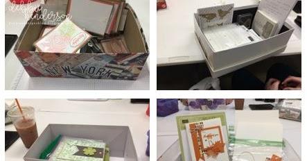 Debbie's Designs: Shoe Box Swap With My Customers! on small house house design, shoe box house furniture, paper box design, best friend shoe box design, shoe box stage design, shoe boxes with a z, cardboard house design, shoe box living room design, shoe logo design, shoe box house craft,