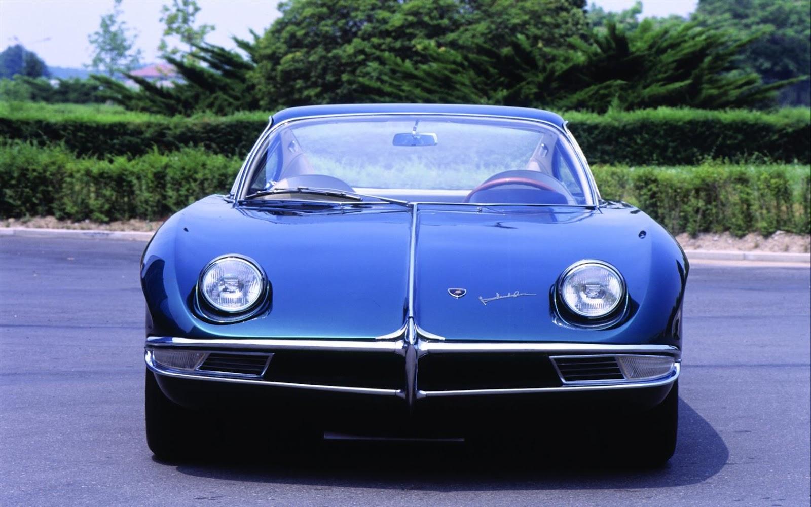 2018 Dodge Barracuda >> Classic Car Posters: Lamborghini 350 GTV Coupe