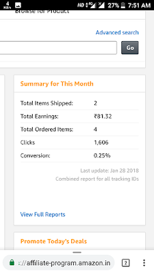 Starting months of Affiliate Marketing Income Level