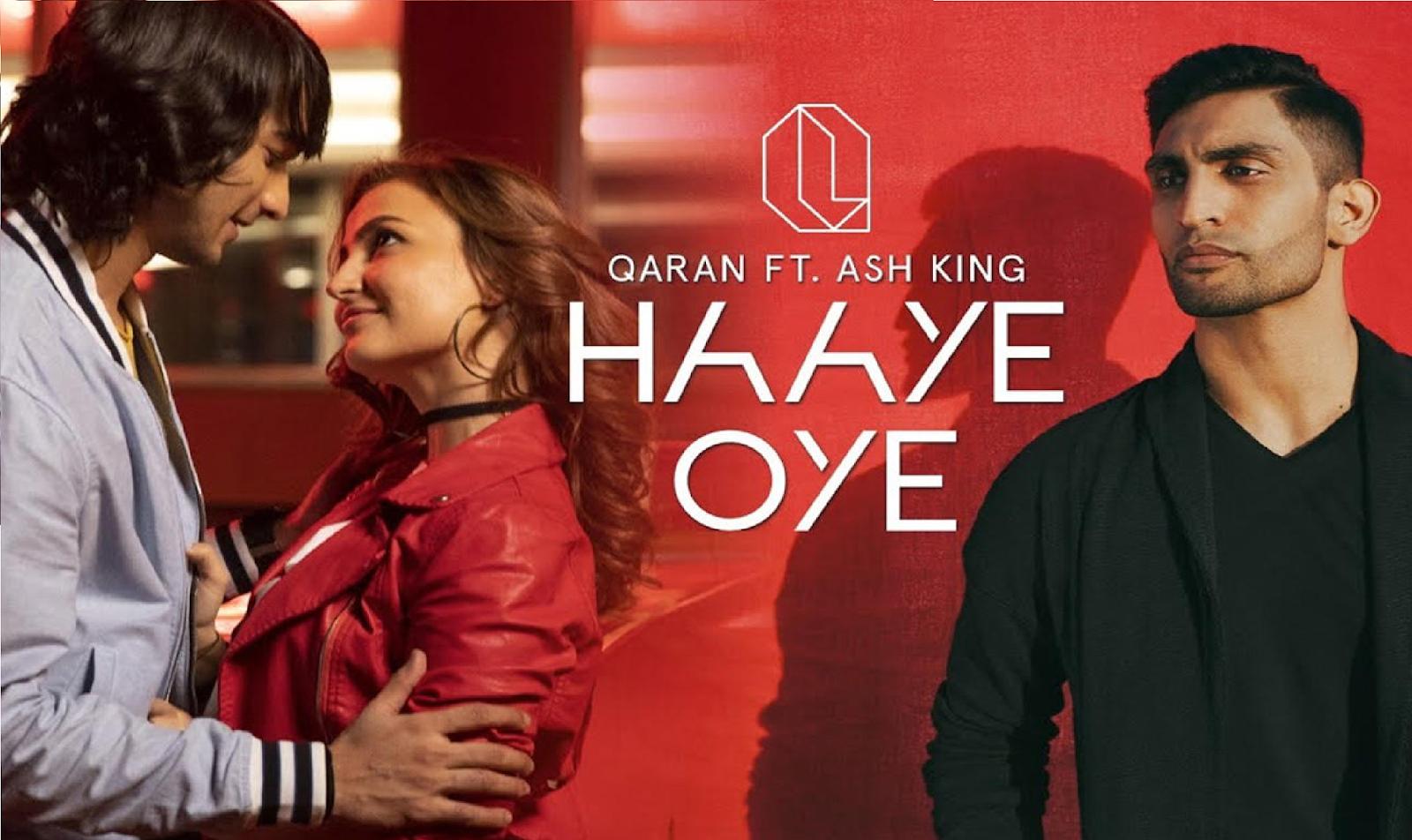 Haye Oye Guitar Chords Lyrics with Strumming Pattern | Qaran